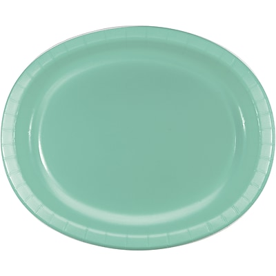 Creative Converting Pack of 24 Fresh Mint Green Oval Plates (DTC318885OVALAB