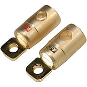 "DB Link 5/16"" Gold Ring Terminals, 2 pk (0 Gauge)(RTG0)"
