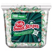 Ferrara Bobs Sweet Stripe Wintergreen Tube, Pack of 150 (FER02927)