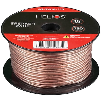 Helios 16-Gauge Speaker Wire (250ft) (ETHASSW16250)(AS-SW16-250)