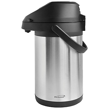 Brentwood Appliances CTSA-2500 2.5-Liter Airpot & Cold Drink Dispenser
