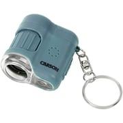 Carson Optical MM-280B MicroMini 20x LED Lighted Pocket Microscope (Blue) (CSNMM280B)