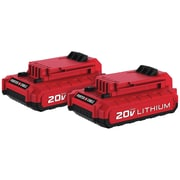 Porter Cable PCC680LP 20-Volt MAX* 1.5Ah Li-Ion Batteries, 2 pk