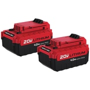 Porter Cable PCC685LP 20-Volt MAX* 4Ah Li-Ion Batteries, 2 pk