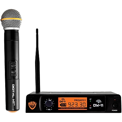 Nady Single-Channel Digital Wireless Microphone System (Digital HT Handheld Microphone) (NDYDW11HTANY)(DW-11-HT-ANY)