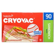 Cryovac® Brand Resealable Sandwich Bags Retail (100946906)