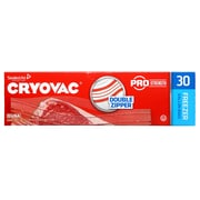 Cryovac® Brand Resealable One Gallon Freezer Bags Retail, 30 Each, Pack of 9 (100946912)