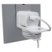 Cord Commander® Cord Organizer for Apple Chargers (CCT1-APP-W)