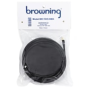 """Browning Premium 3 5/8"""" Magnet NMO Mounting with Rubber Boot & SMA Male (WSPBR1035SMA)(BR-1035-SMA)"""