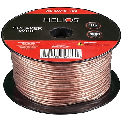 Helios 16-Gauge Speaker Wire (100ft) (ETHASSW16100)(AS-SW16-100)