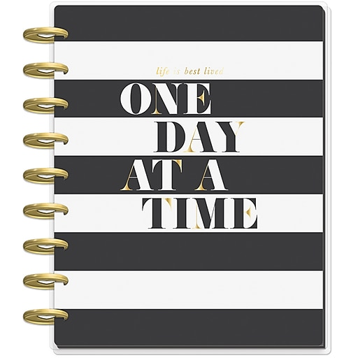 2019 the happy planner 8 5 h x 9 75 w classic planner one day at a