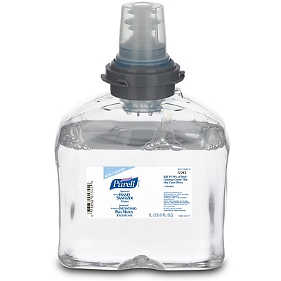PURELL® Advanced Hand Sanitizer Foam, Refreshing Fragrance, TFX, 1000 mL, 2/Carton (5592-02)