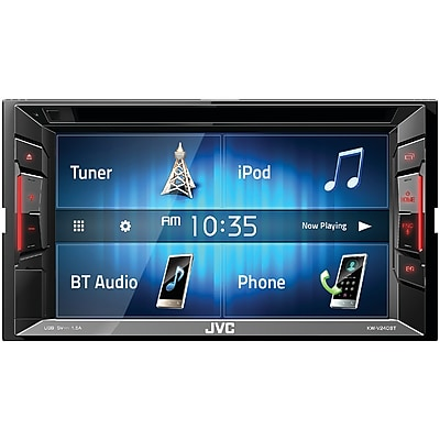 JVCM Double-DIN Bluetooth A/V Receiver with 6.2