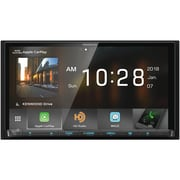 "KENWOOD 6.95"" Double-DIN In-Dash DVD Receiver with Bluetooth, Apple CarPlay, Android Auto & SiriusXM Ready(DDX9705S)"