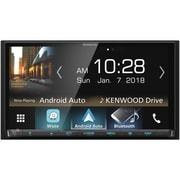 """KENWOOD 6.95"""" Double-DIN In-Dash Digital Media Receiver with Bluetooth, Apple CarPlay, Android Auto & SiriusXM Ready(DMX7705S)"""