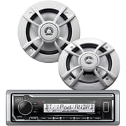"KENWOOD Marne RTL PK- Single-DIN In-Dsh/Bltth & SiriusXM Rdy pls  6.5"" 2-Wy Marne Spkrs PKG-MR322BT (KWDPKGMR322BT)"