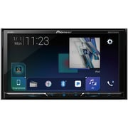 "Pioneer 7"" Double-DIN In-Dash DVD Receiver with Bluetooth & SiriusXM Ready (PIOAVH600EX)(AVH-600EX)"