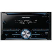 Pioneer Double-DIN In-Dash CD Receiver with Bluetooth (PIOFHS500BT)(FH-S500BT)