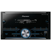 Pioneer Double-DIN In-Dash Digital Media Receiver with Bluetooth (PIOMVHS400BT)(MVH-S400BT)