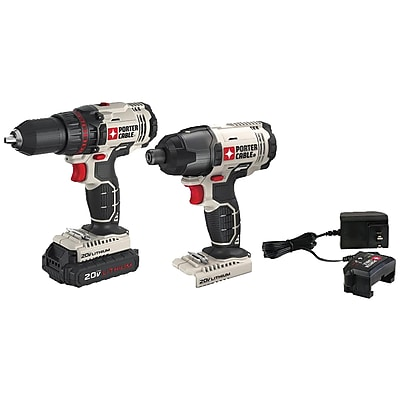 Porter-Cable 20-Volt MAX* Cordless 2-Tool Combo Kit