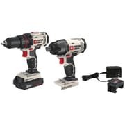 Porter-Cable 20-Volt MAX* Cordless 2-Tool Combo Kit with Battery(PCCK604LA)