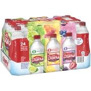 Ozarka Sparkling Water, Pomegranate Lemonade, Triple Berry, & Lime, 16.9 oz. Bottles, Variety Pack of 24 (12349684)