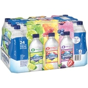 Ice Mountain Sparkling Water, Pomegranate Lemonade, Triple Berry & Lime, 16.9 oz. Bottles, Variety Pack of 24 (12349683)