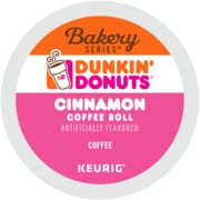 Dunkin' Donuts® Cinnamon Coffee Roll Coffee, Keurig® K-Cup® Pods, Medium Roast, 24/Box (5000202811)