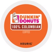 Dunkin' Donuts 100% Colombian K-Cup Pods, 24 per Box (5000202810)