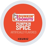 Dunkin' Donuts® Pumpkin Spice Coffee, Keurig® K-Cup® Pods, Medium Roast, 24/Box (5000202812)