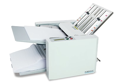 Formax® letter folder, Automatically fold 7,400 Sheets/Hour