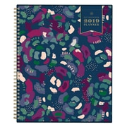 "2019 Day Designer Planner Abstract Floral CYO 8.5""H x 11""W RY Monthly Wirebound (109225)"