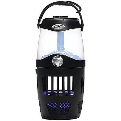 PIC 4-in-1 Portable Insect Trap & Lantern with Bluetooth (PCOOUTLAN)(OUT-LAN)