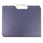 U Brands Celestial Heavyweight File Folder, 3-Tab, Letter Size, Assorted, 9/Pack (3080U04-24)