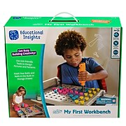 Educational Insights Design & Drill My First Workbench, Grey (4171)
