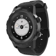 3Plus 3PL-HYBRID-BK Cruz Hybrid Watch, Black