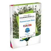 "Hammermill Color Laser Gloss Copy Paper, 8-1/2"" x 11"", 94 Bright, 32 LB, 300 Sheets"