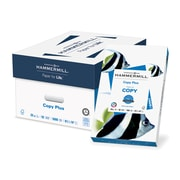 "HammerMill® Copy Plus Copy Paper, 20 Lb., 92 Bright, 8 1/2"" x 14"", White, 10-Ream Case (105015)"