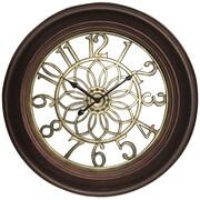 "Westclox 32946B 22.75"" Wall Clock with Antique Bronze & Gold Finish"