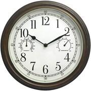 """Westclox 33027 12"""" Indoor/Outdoor Wall Clock"""
