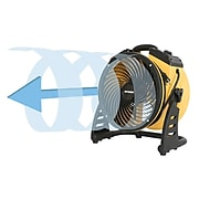 XPower FC-100 4-Speed Pro Air Circulator Utility Fan (XPOFC100)
