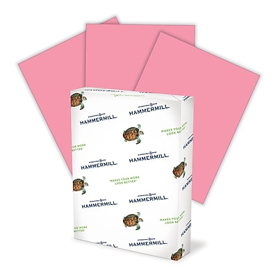 HammerMill® 20-lb. Recycled Fore MP Color Paper, Cherry Red