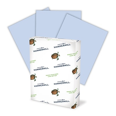 Hammermill Recycled Fore® MP Color Paper, Orchid, LETTER-size, 20 lb., 8 1/2