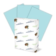 """Hammermill® Fore® 102905 3-Hole Punched Multipurpose Paper, Blue, 8 1/2""""(W) x 11""""(L), 500/Ream"""