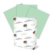 """Hammermill® Fore MP Color Paper, 8 1/2"""" x 11"""", LETTER-Size, 3-Hole Drilled, 20 lb., Green (102947)"""
