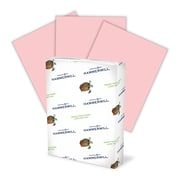 """Hammermill Fore MP Color Paper, 8 1/2"""" x 11"""", LETTER-Size, 3-Hole Drilled, 20 lb., Pink"""