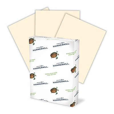 HammerMill® Fore® MP Pastel Paper, 24lb., Ivory, 8 1/2