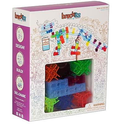 Brackitz Inventor Plastic Building Set, 100 pieces (BKZBZ82112)