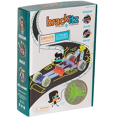 Brackitz, Driver Plastic Building Set, 43 pieces (BKZBZ82211)