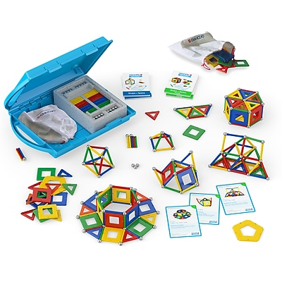 GeoMagWorld Education Shapes & Space Panels Building set, 244 pieces (GMW224)